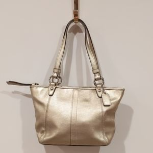 Coach Gold Leah # 42416 purse